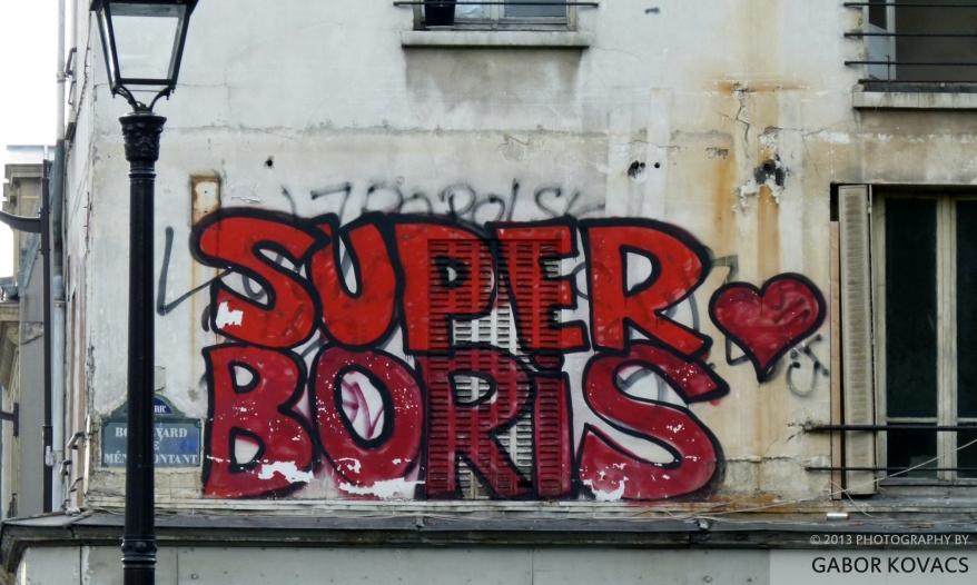 election graffiti? © 2013 GABOR KOVACS