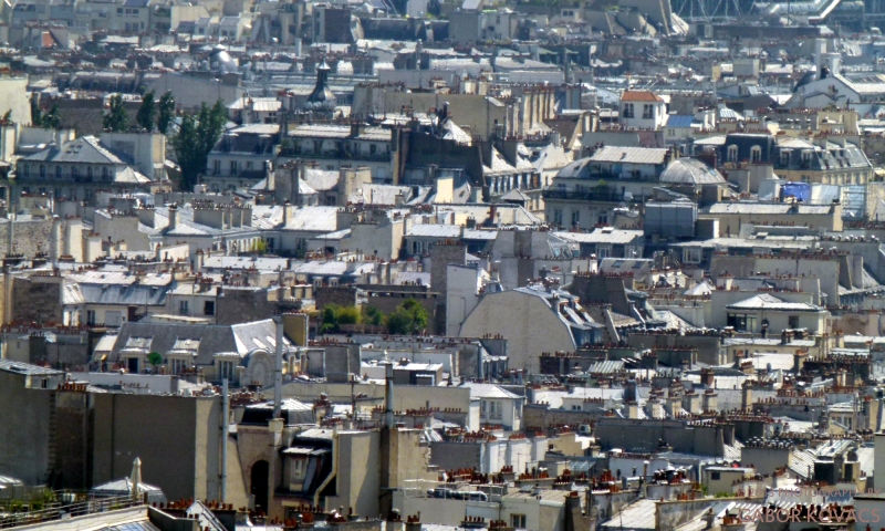 Rooftops of Paris © 2013 GABOR KOVACS