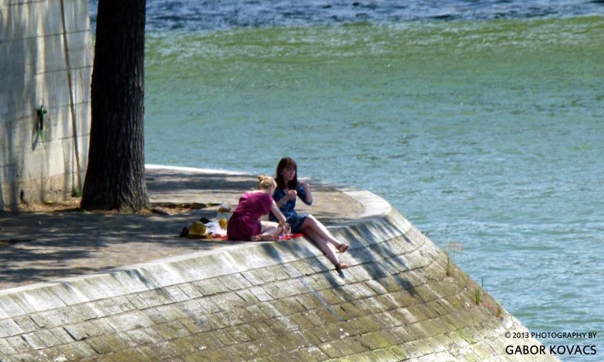 picnic by the Seine © 2013 GABOR KOVACS