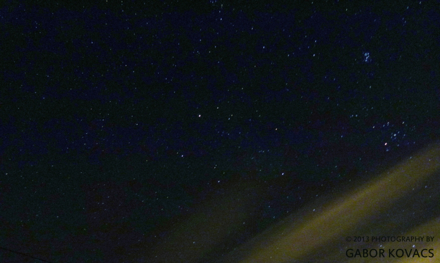 starry sky 2 © 2013 GABOR KOVACS
