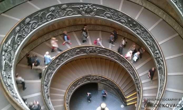 Spiral Staircase in the Vatican © 2015 PHOTOGRAPHY BY GABOR KOVACS