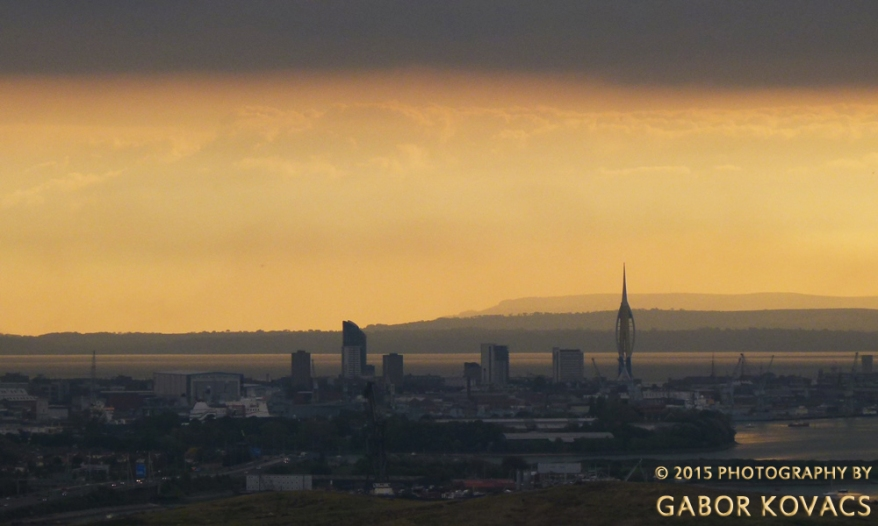 Portsmouth from Portsdown Hill © 2015 PHOTOGRAPHY BY GABOR KOVACS