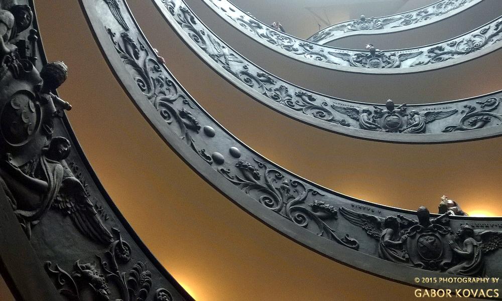 spiral staircase in the Vatican (again) https://gtk395.files.wordpress.com/2015/10/wp_20150323_001.jpg