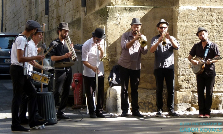 street band, Montpellier © 2015 PHOTOGRAPHY BY GABOR KOVACS