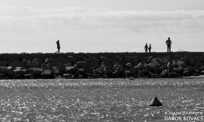 on the harbour wall (2) © 2015 PHOTOGRAPHY BY GABOR KOVACS